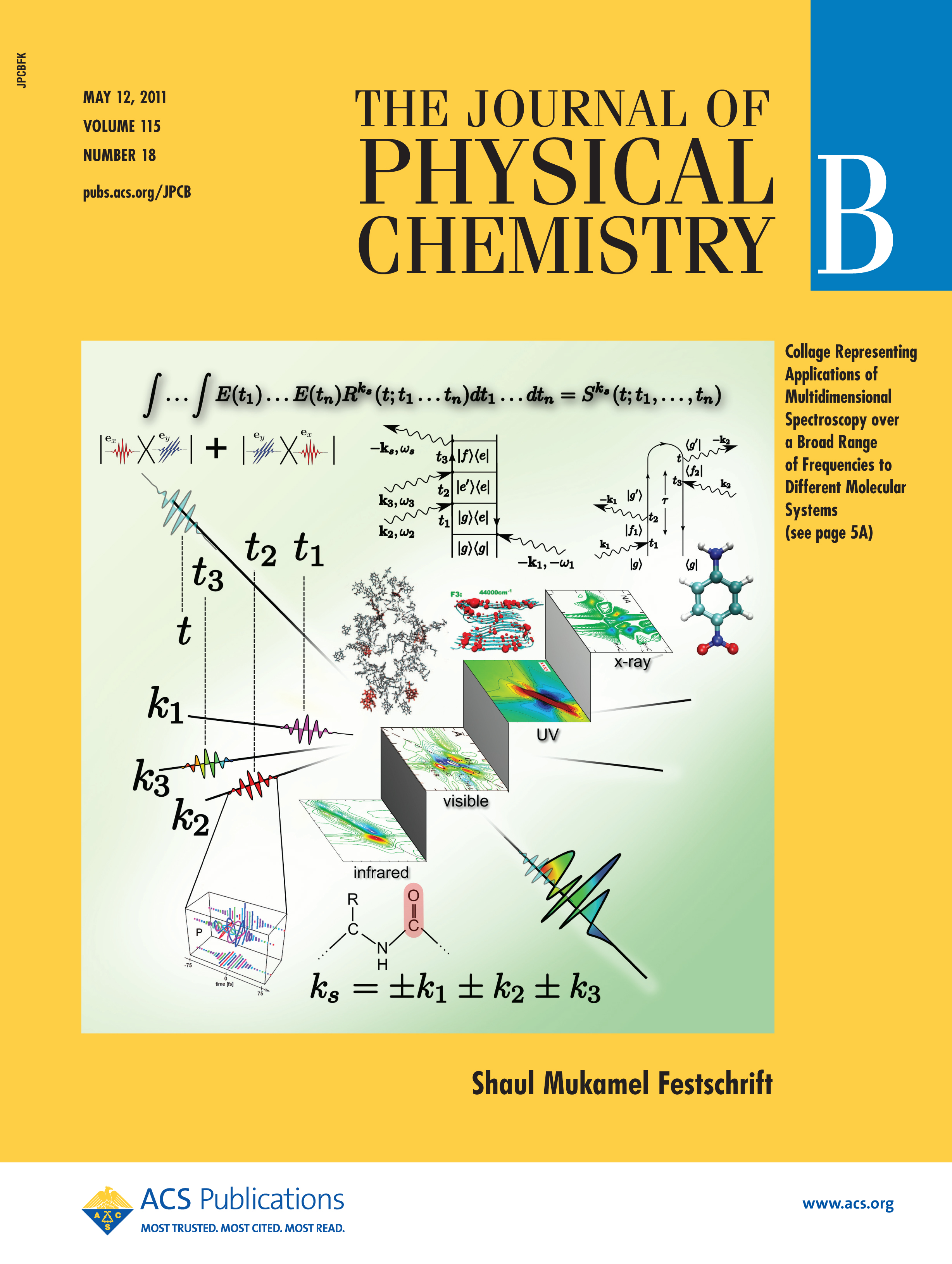 J. Phys. Chem. B - May 12, 2011 - Festschrift Cover
