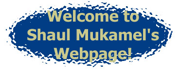 Welcome to Shaul Mukamel's Webpage!